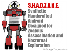Synthetic Handcrafted Android Designed for Zealous Assassination and Nocturnal Exploration