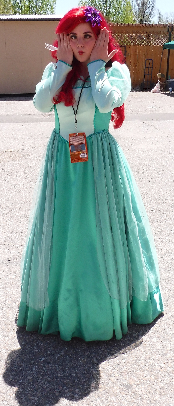 Ariel cosplay from Cheyenne Comic Con 2017 #2