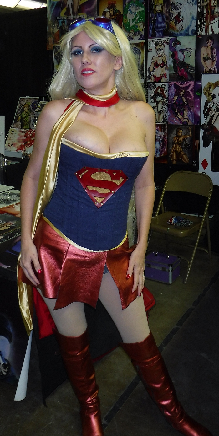 Steampunk Supergirl by Cara Nichole at Cheyenne Comic Con 2017
