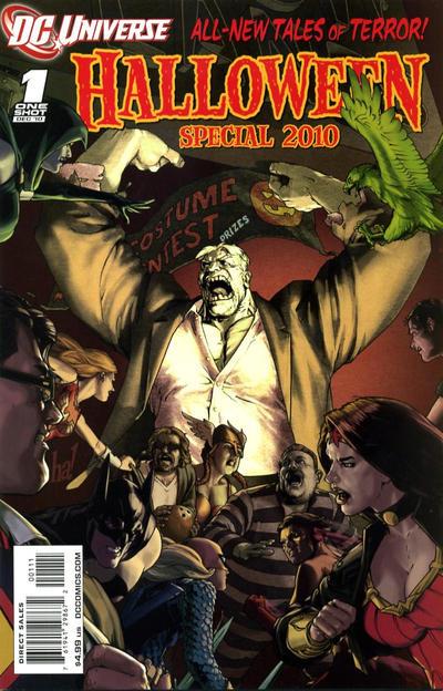 DCU Halloween Special 2010 #1