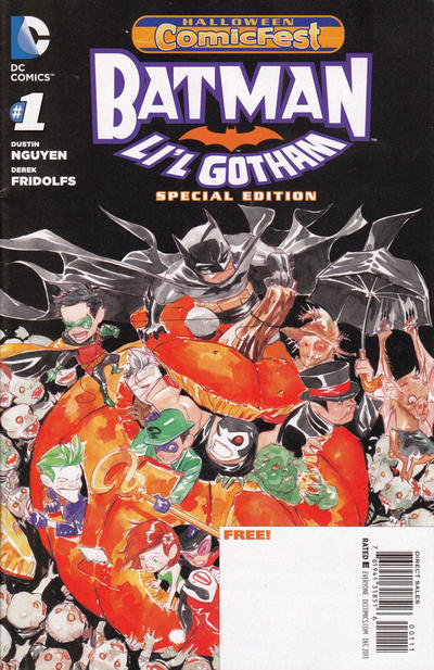 Halloween Comic Fest 2013 - Batman: Li'l Gotham Special Edition