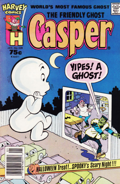 The Friendly Ghost, Casper #228