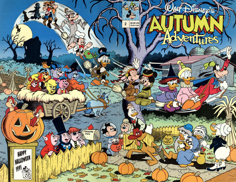 Walt Disney's Autumn Adventures #2 (1991)