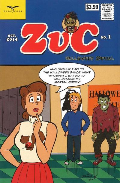 Zombies vs Cheerleaders: Halloween Special #1