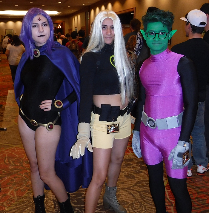 Teen Titans Group from NDK 2017