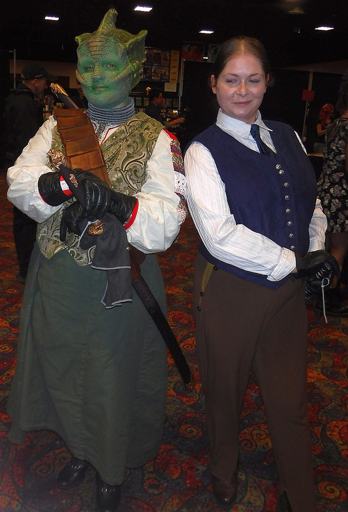 Vastra & Jenny at Rocky Mountain Con 2017