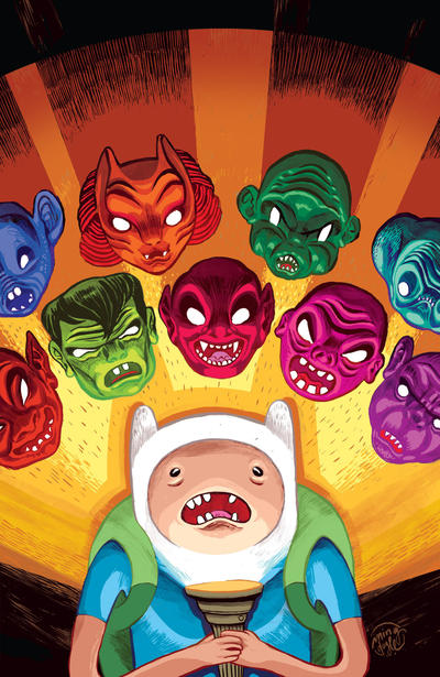 Adventure Time 2013 Spoooktacular #1 (2013)