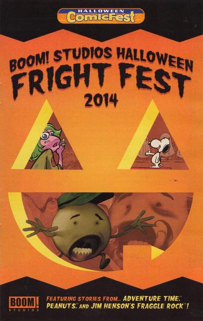 Boom! Studios Halloween Fright Fest (2014)
