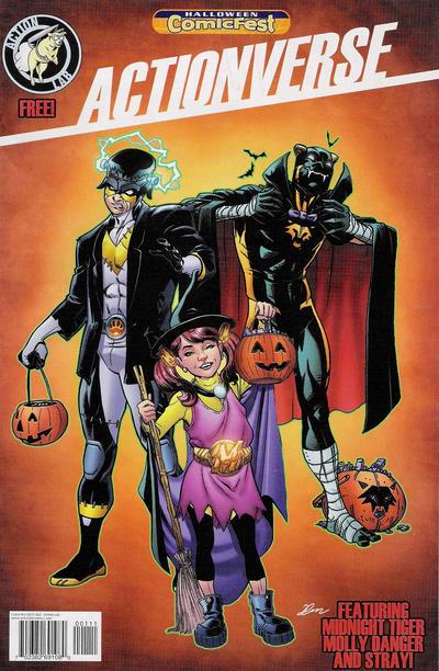 Actionverse: Halloween Comicfest #1 (2015)