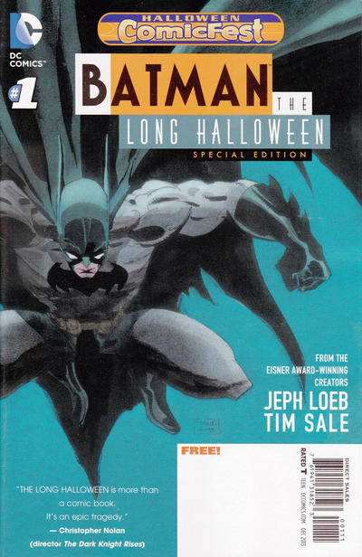 Halloween Comic Fest 2013 - Batman: The Long Halloween Special Edition (2013)