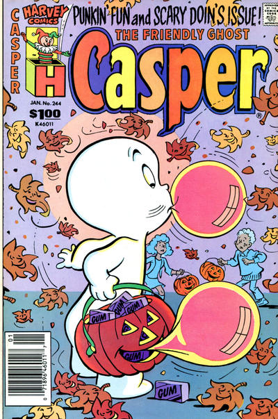 The Friendly Ghost, Casper #244 (1988)