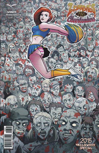 Zombies vs Cheerleaders: Halloween Special #2 2015