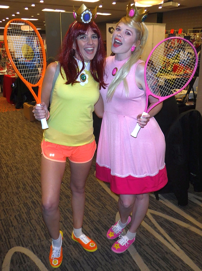 Daisy & Peach at RMC 18