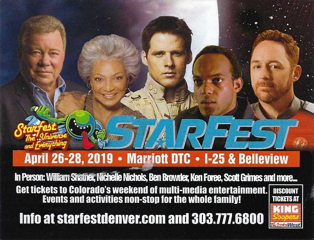 Starfest 2019 Postcard