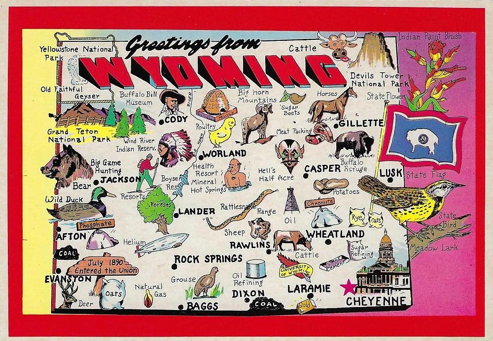 Wyoming Map 13