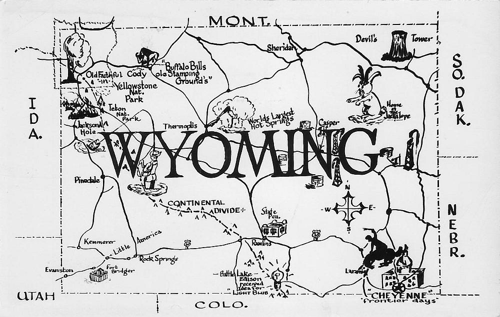 Wyoming Map 15