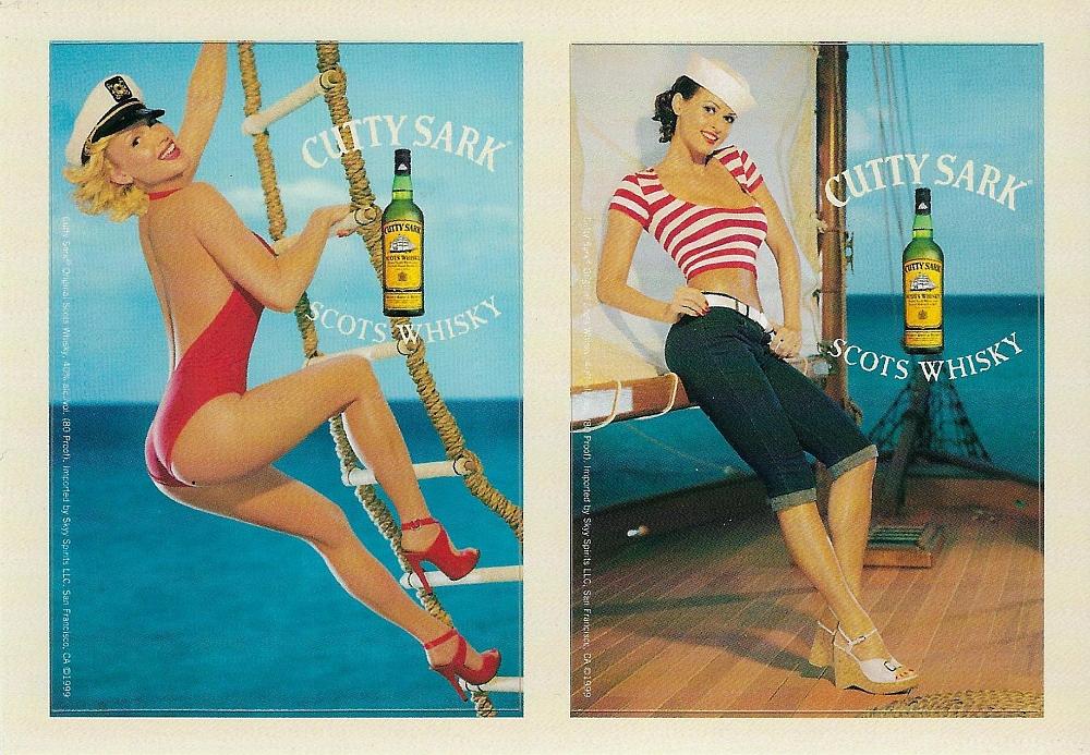 Cutty Sark postcard