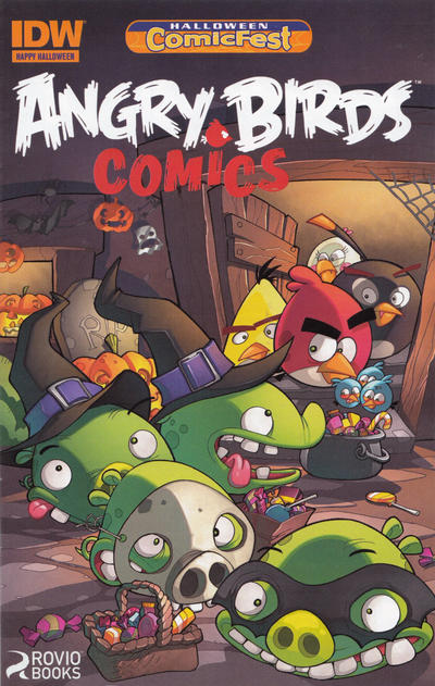 Angry Birds Comics: Halloween Special (2014)
