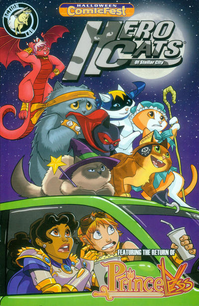 Halloween ComicFest Hero Cats of Stellar City - Featuring the Return of Princeless (2014)