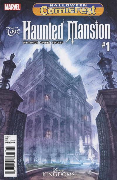 Haunted Mansion Halloween Comic Fest 2016 #1 (2016)