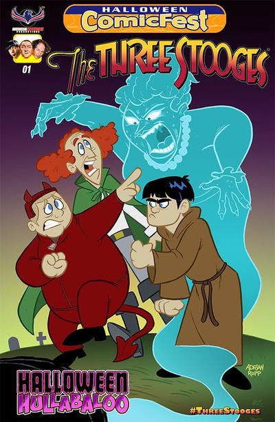 The Three Stooges: Halloween Hullabaloo #1 (2016)