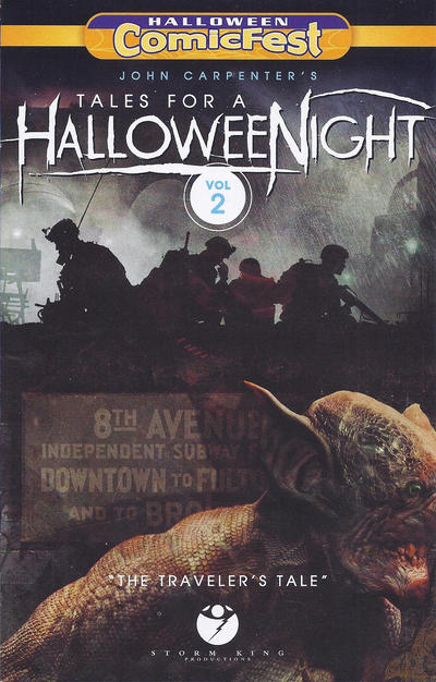 John Carpenter's Tales for a HalloweeNight Volume Two (A Traveler's Tale) (2016)