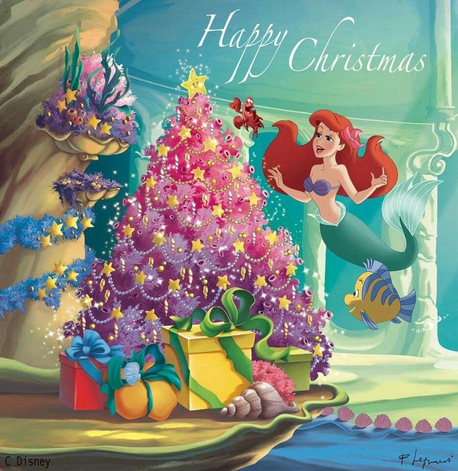 Mermaid Christmas Card 18