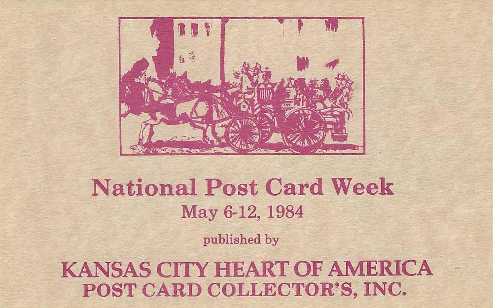 National Postcard Week 1984