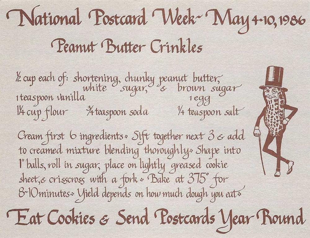 National Postcard Week 1986