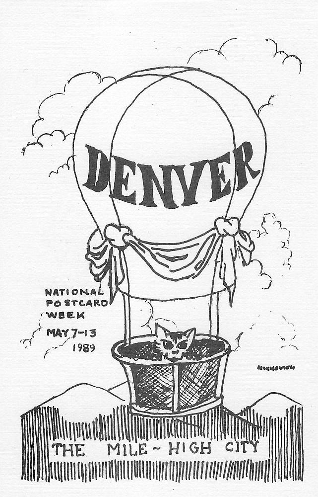 National Postcard Week 1989