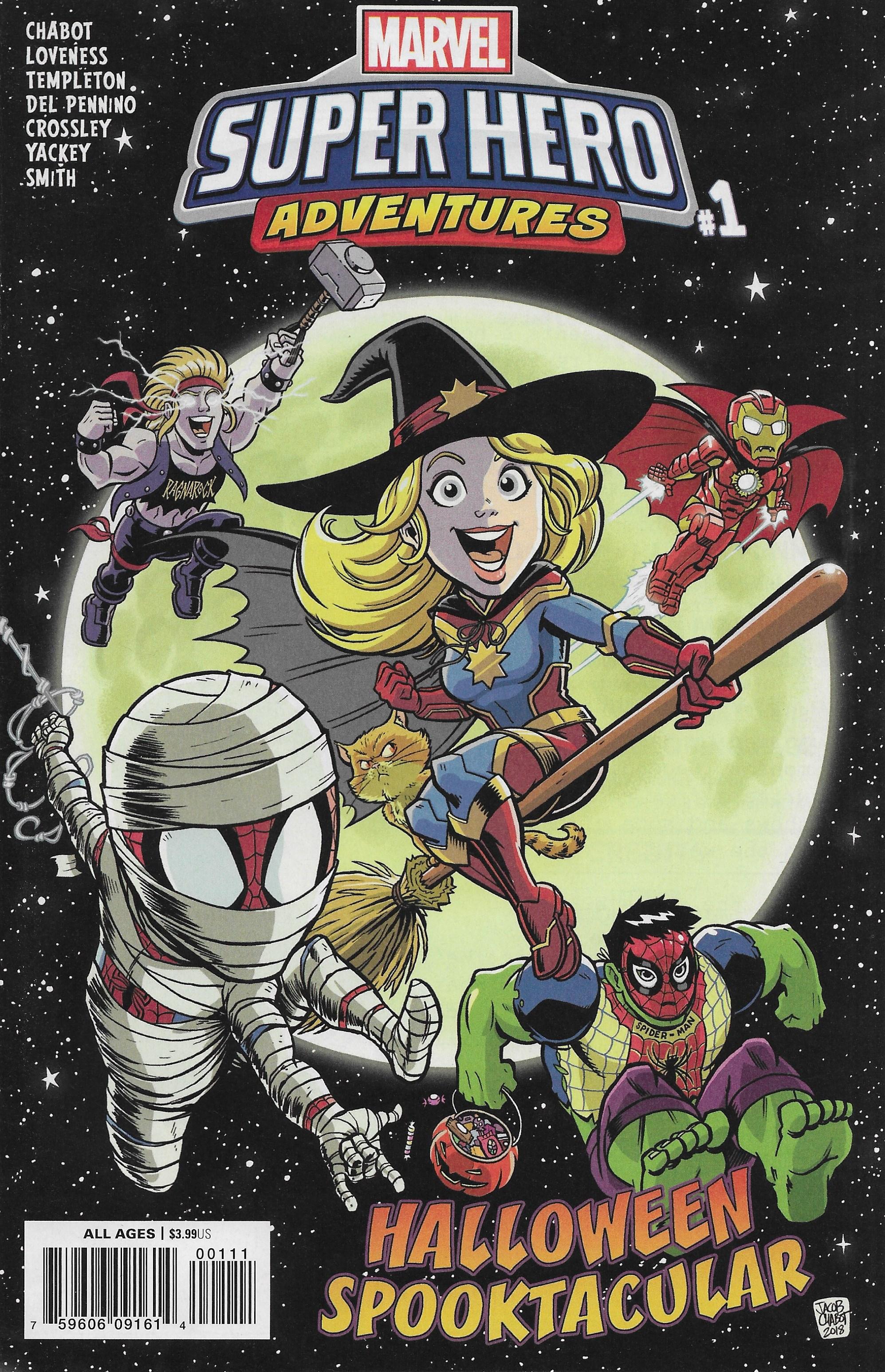 Marvel Super Hero Adventures: Captain Marvel - Halloween Spooktacular #1 (2018)