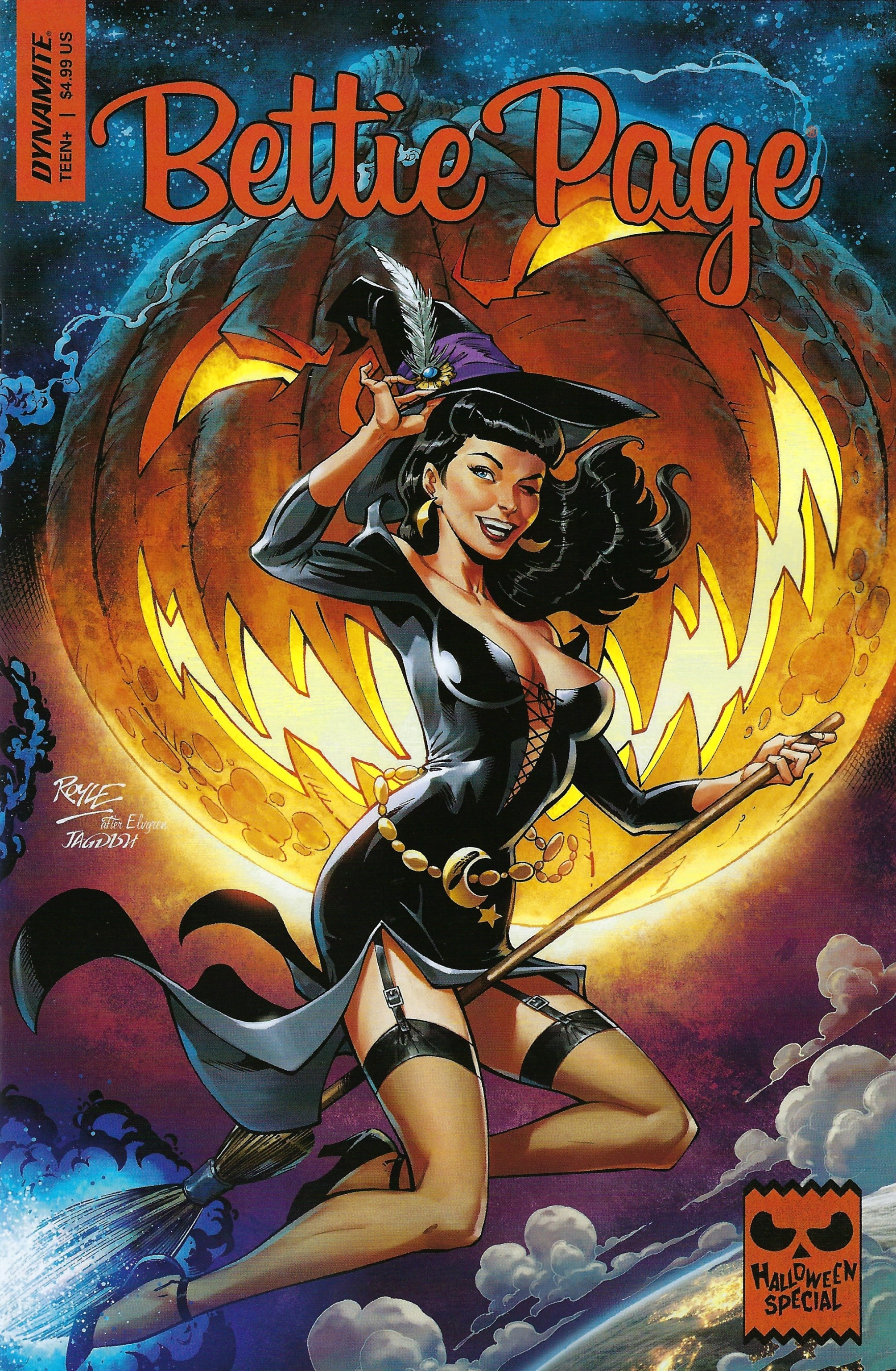 Bettie Page Halloween Special One Shot (Cover A) (2019)
