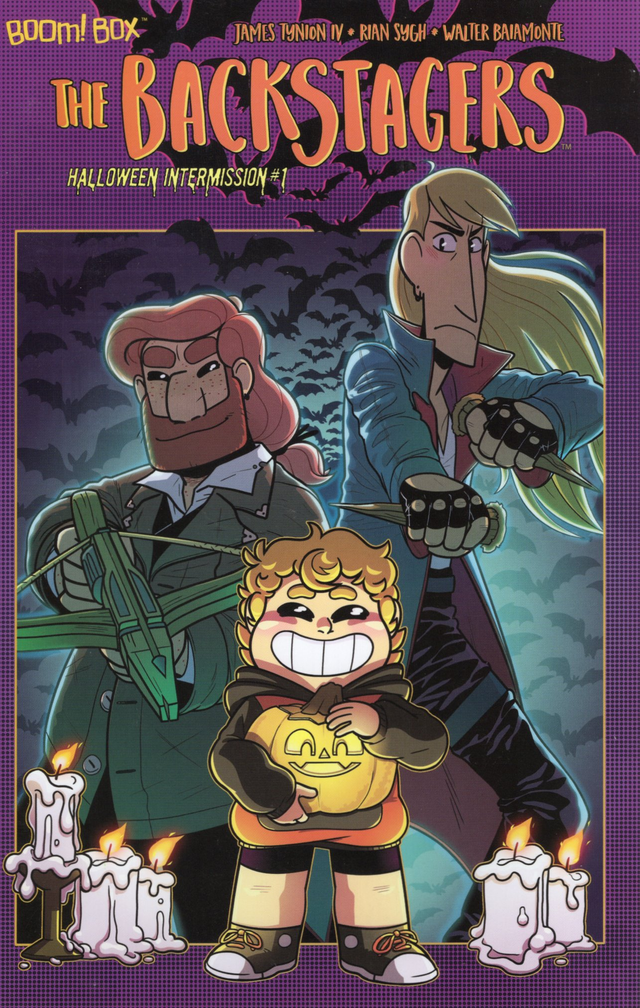 The Backstagers: Halloween Intermission #1 (2018)