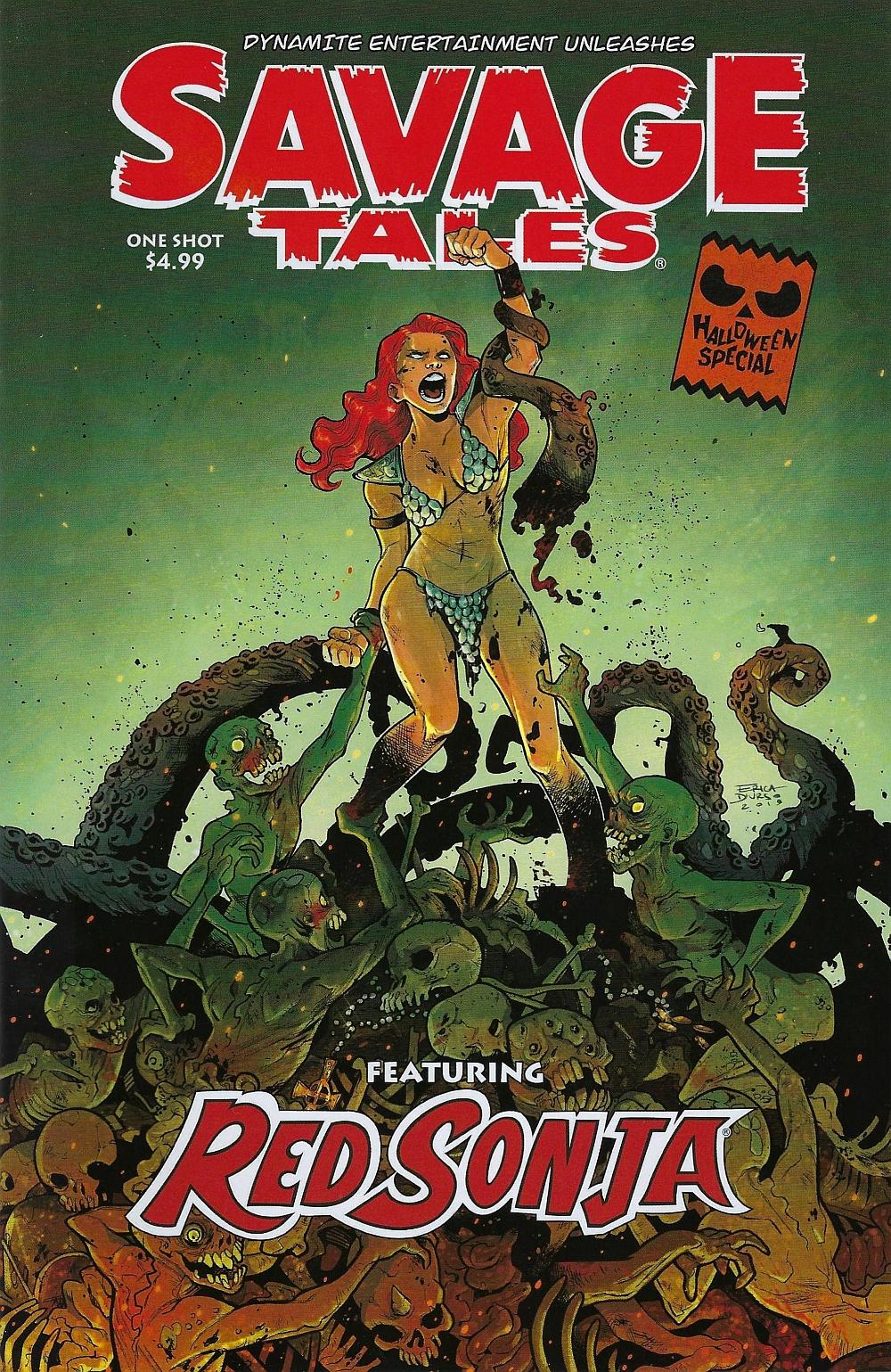 Savage Tales Red Sonja (2019)