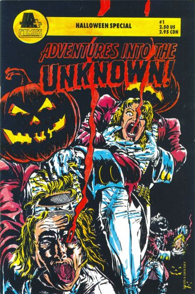 Adventures into the Unknown Halloween Special #1
