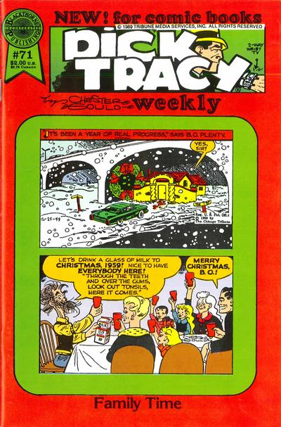 Dick Tracy Weekly #71
