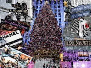 Shoppingtour zu Weihnachten