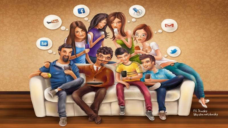 Шаблон социальной сети uBloggi для uCoz