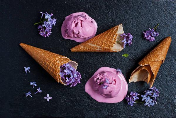 Мороженое из сирени