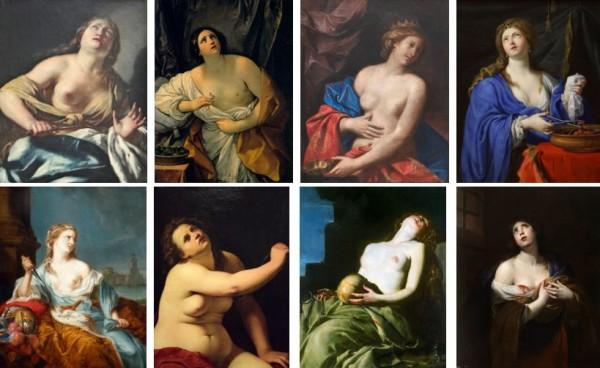 Смерть топлесс: Путеводитель по сюжетам картин