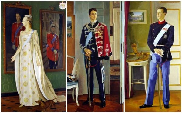 Дмитрий Жилинский и портрет королевы