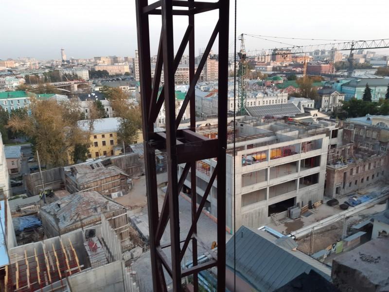 Фоторепортаж с еще одной стройки Пушкинского музея