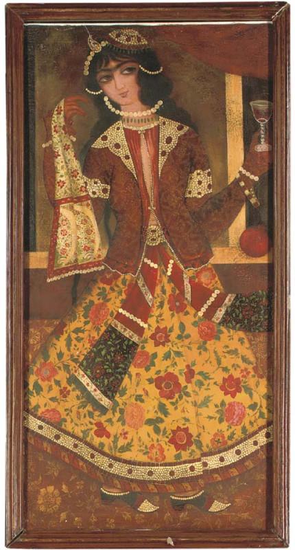 Сколько стоят каджарские картины