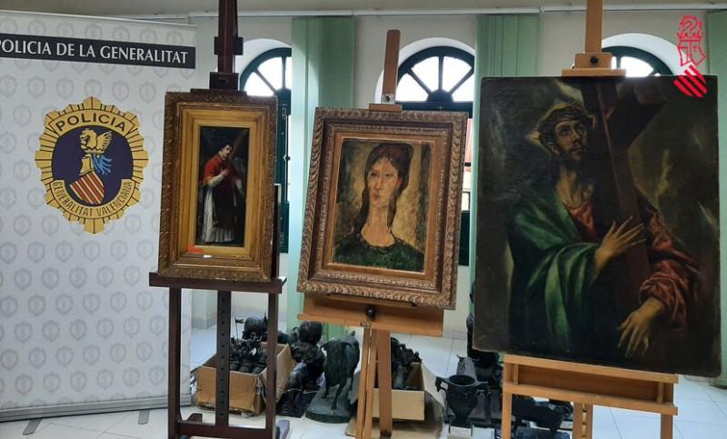 Афера с поддельными картинами в Испании