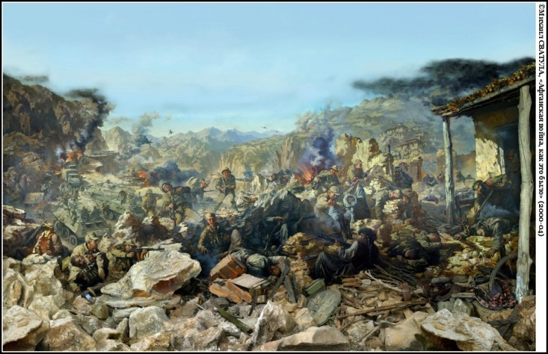 Афганская война в советской живописи