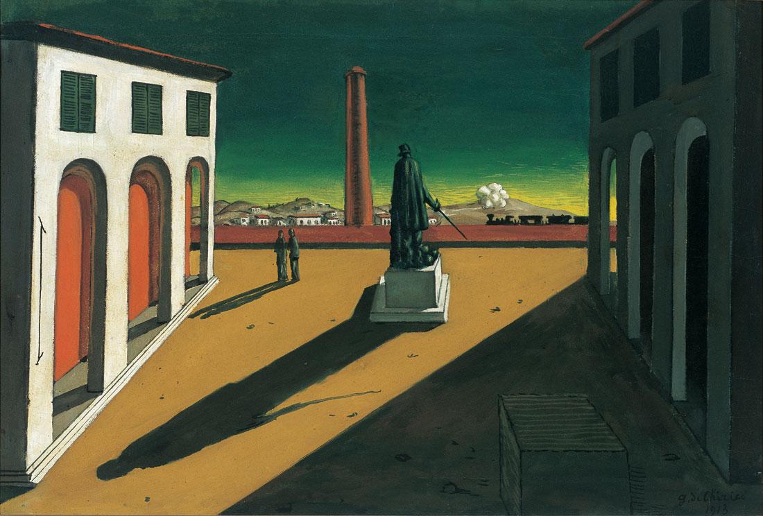Не Дали единым Giorgio de Chirico. Piazza, 1913.jpg