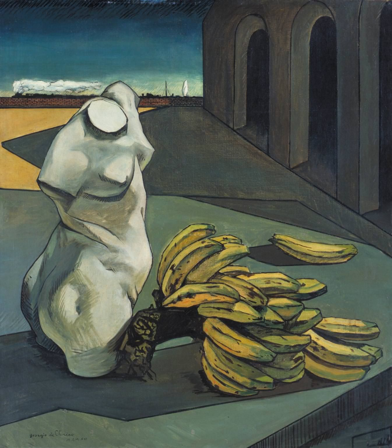 Giorgio de Chirico. The Uncertainty of the Poet 1913.jpg