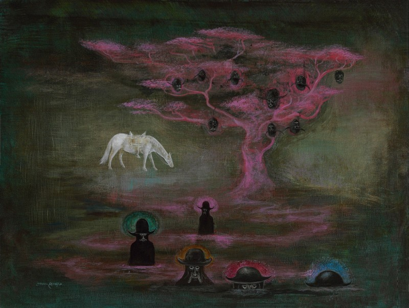 Leonora Carrington - My main aspirin and its people .jpg