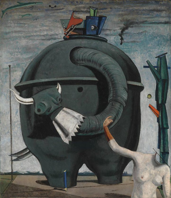 The Elephant Celebes, 1921 - by Max Ernst.jpg