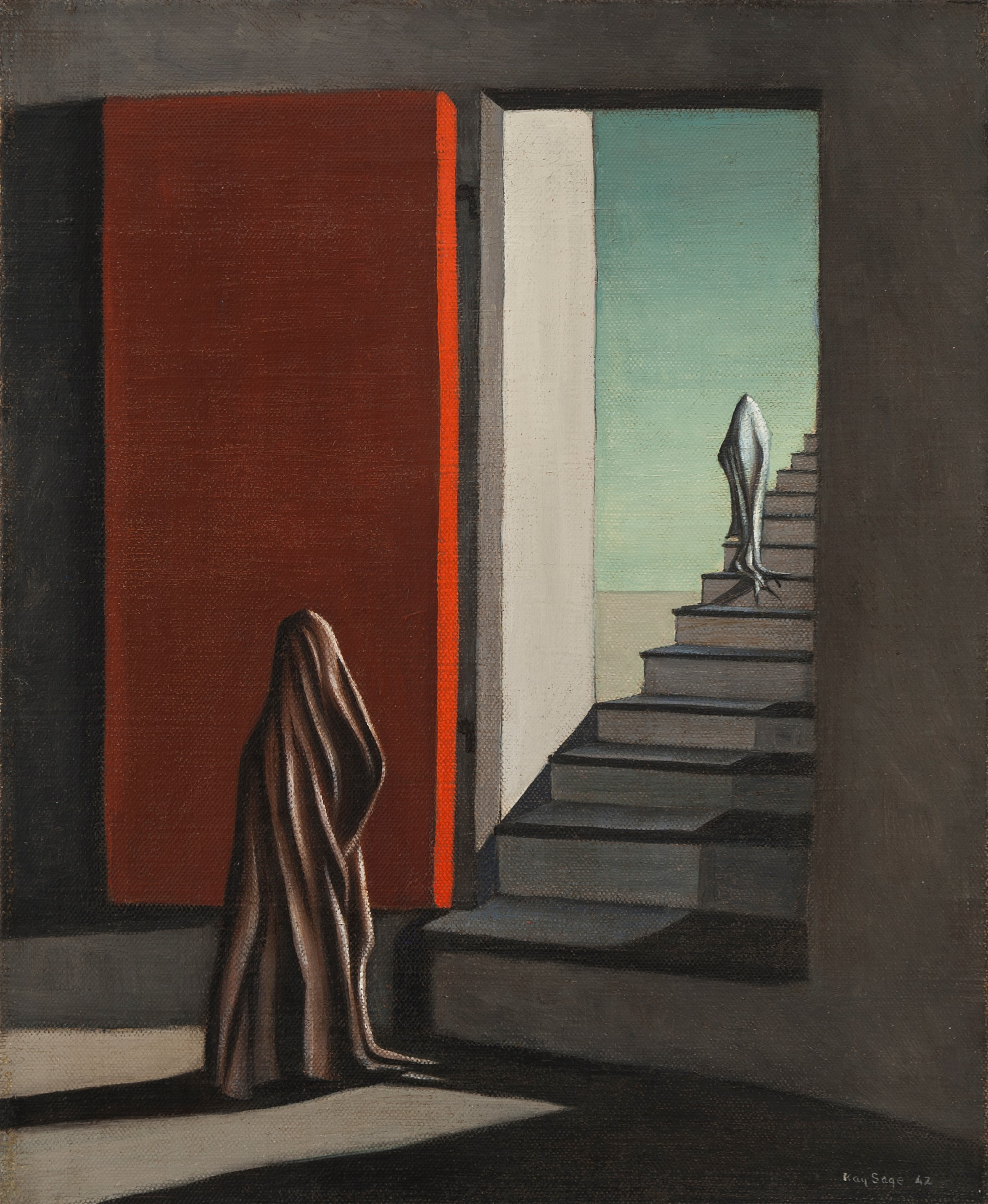 The Fourteen Daggers, 1942 by Kay Sage.jpg